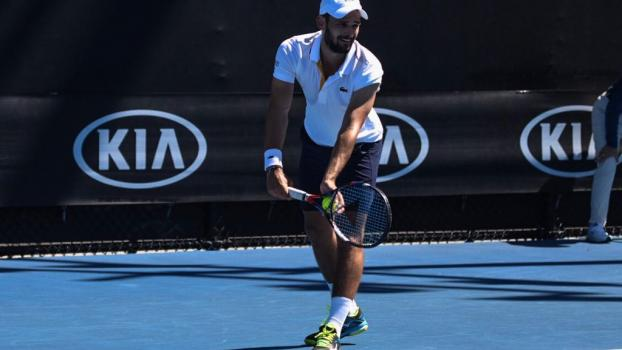 Hugo Nys at the Australian Open